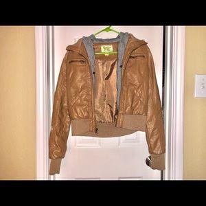 Tan Zip Jacket